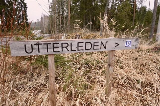 Den populära Utterleden leder till Lappfors vildmarkscentrum.