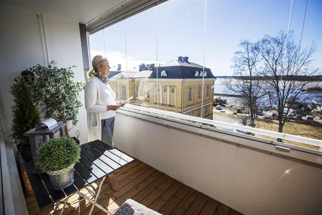 Läget är viktig, i alla marknader, säger Maarit Lähteenmäki.