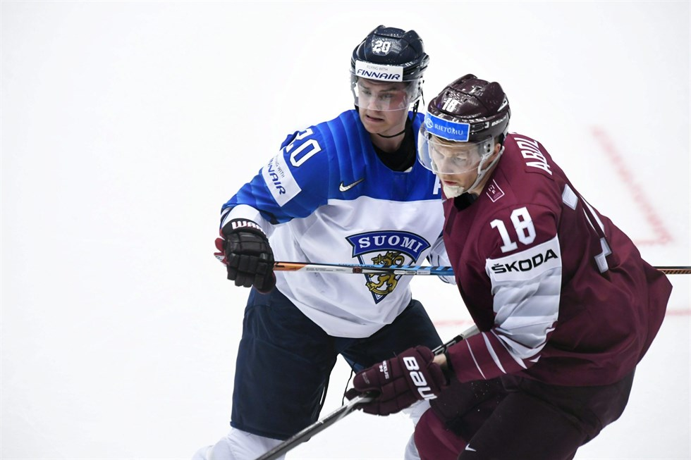 Lettland vidare i hockey vm
