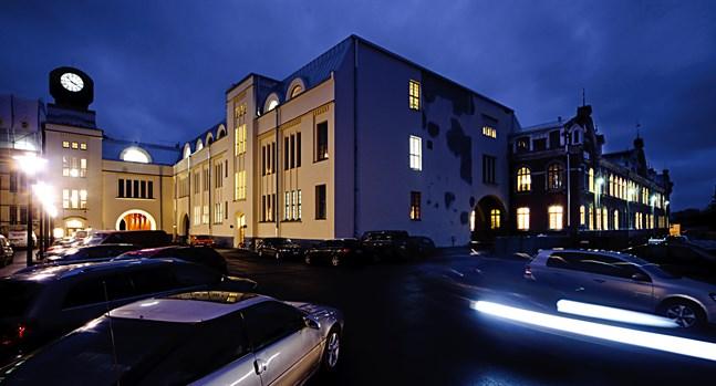 Staden Jakobstad. Arkivfoto.