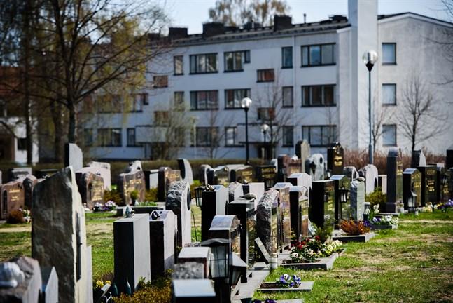Kyrkogården i Jakobstad behöver förstoras.