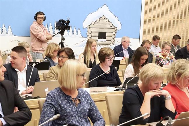 Korsholm fullmäktige samlades till möte för att behandla bland annat flera motioner.