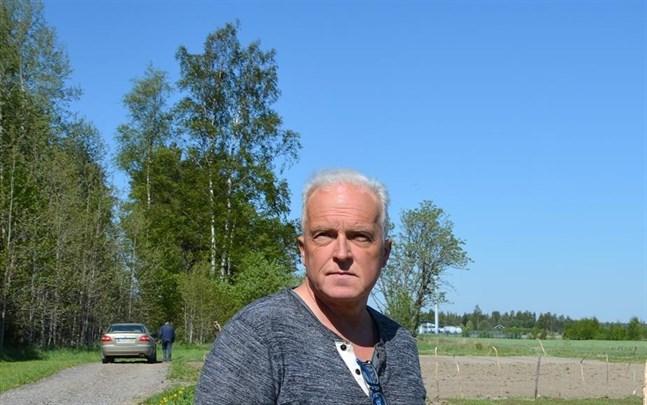 Lantmäteritekniker Yngve Storsved går i pension i höst. Han har arbetat i Närpes sedan 2006.