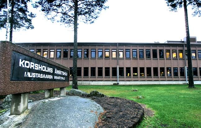 Korsholms ämbetshus. Arkivbild.