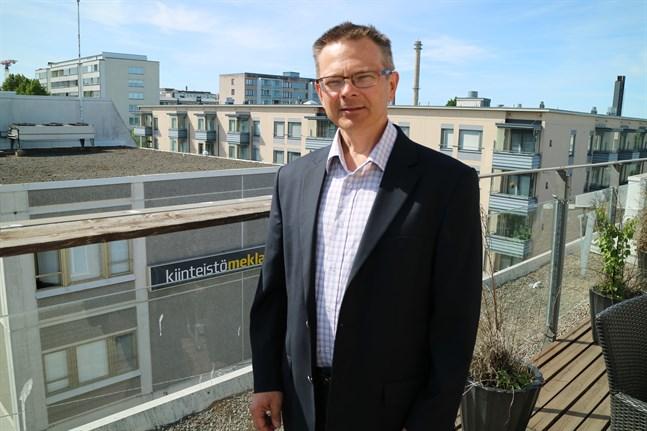 Mikael Snellman, regiondirektör på YIT.