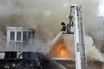 Ingen kom till skada i branden i Palokka.