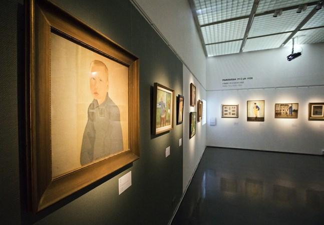 Eero Nelimarkka utställning på Österbottens museum.