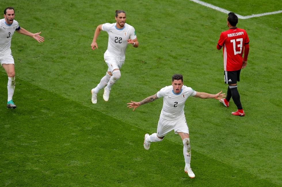 Egypten uruguay i fotbolls vm