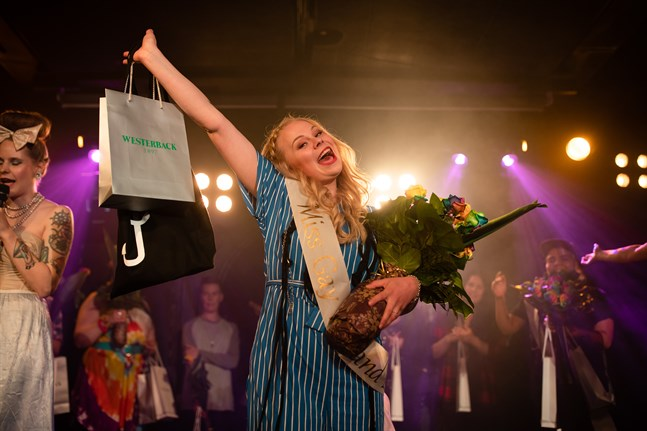 Iina Karinen har valts till årets Miss Gay Finland.
