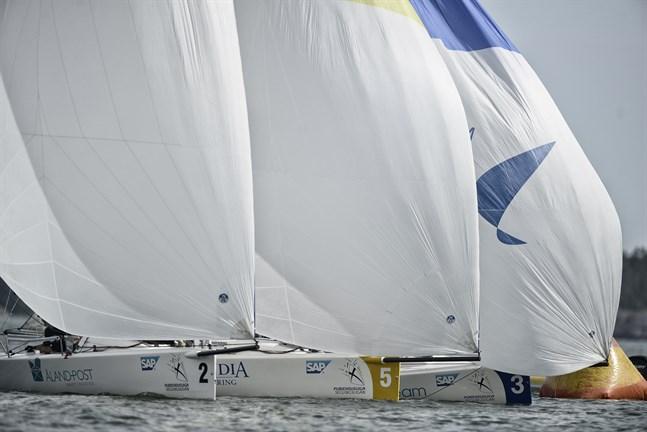 Seglingsligan innehåller tre deltävlingar den här säsongen – i Mariehamn, Vasa och Helsingfors.