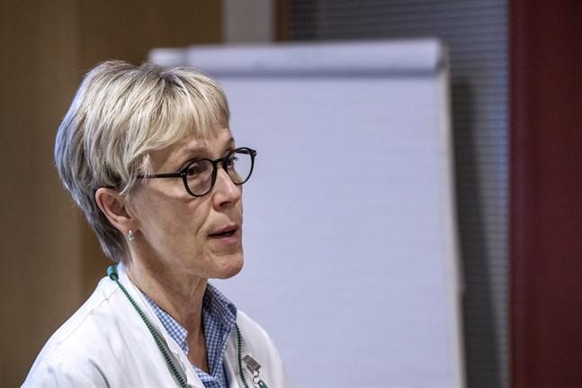 Anestesiolog Tuula Rajaniemi leder Läkarförbundet.