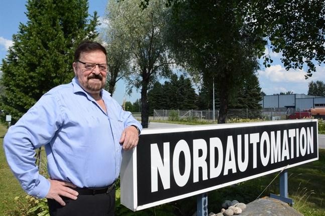 Pauli Ojala, tidigare vd för Nordautomation i Kristinestad.