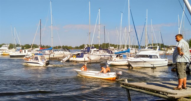 Jeppis 2 sea ordnas som en typ av båtorientering på tisdag under Jakobs dagar.