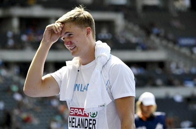 Oliver Helander har ett personbästa på hisnande 88,02, men de senaste säsongerna har han plågats av skador.
