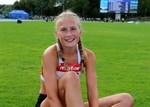 Nathalie Blomqvist debuterade i 17-åringarnas Sverigekamp i fjol. Hon finns med i truppen även i år, på 1500 meter.