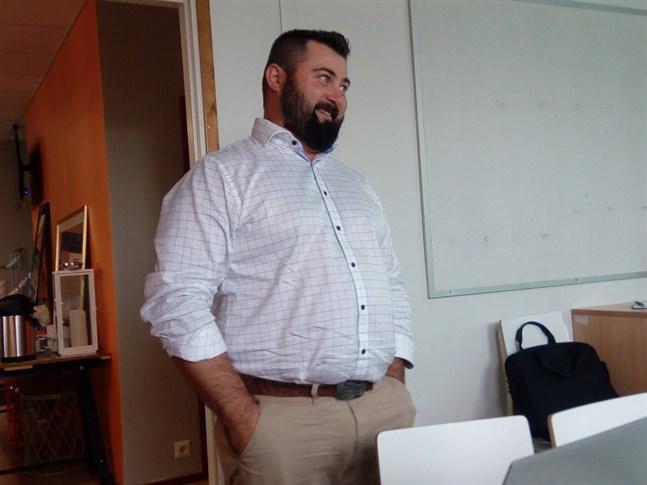 Christos Granqvist vill hjälpa de lokala producenterna och kunderna att hitta varandra.