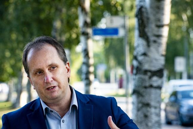 Ingsvas vd Kennet Svanbäck ser en möjlighet till tillväxt på Åland. Som ett finlandssvenskt bolag känns det som ett bra ställe att etablera sig på, säger han.