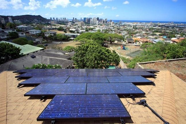 Wärtsiläs kraftverk är kopplat till ett solkraftverk i Oahu.