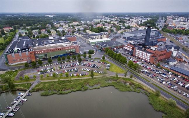 """Vasa stad gör Wärtsiläs område klart för """"urbant boende""""."""