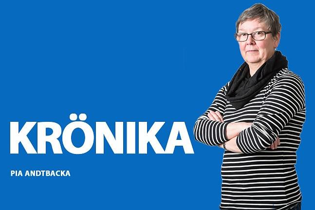 Pia Andtbacka. Krönika