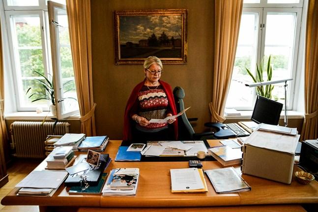 Riitta El-Nemr har sin sista arbetsdag som Kristinestads stadsdirektör på måndag. I november går hon i pension efter nästan 14 år på posten.