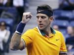 Juan Martín del Potro är vidare till final i US Open efter att Rafael Nadal tvingats ge upp i semifinalen.