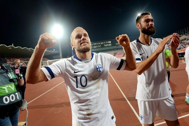 Teemu Pukki och Tim Sparv får finna sig i att spela EM 2021.