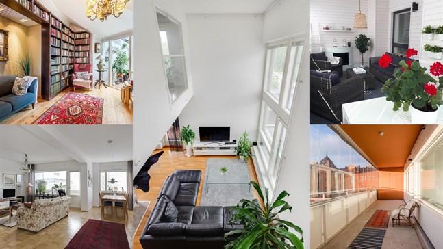 En bild från varje lägenhet. Kan du lista ut vilken bild som hör till vilket objekt?