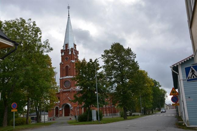 Kristinestads kyrka. Arkivbild.