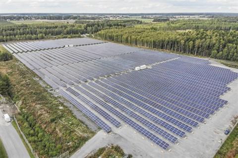 Stor solkraftspark planeras i Honkajoki