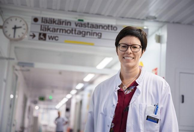 Tanja Eriksson är utbildningsöverläjare på Vasa stad.