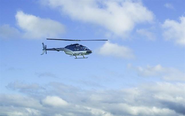 En svensk helikopter misstänks ha kränkt finskt luftrum utanför Vasa. Helikoptern på bilden har inget med händelsen att göra.