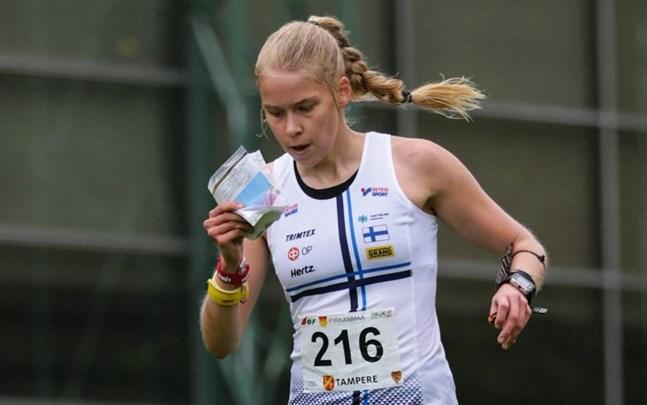 EM hägrar för Alexandra Enlund.