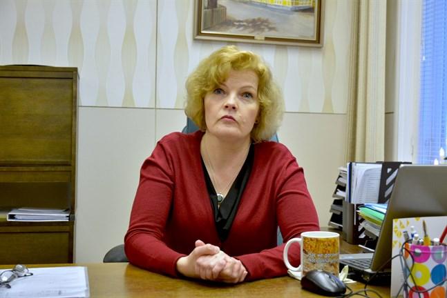 Minna Nikander söker jobbet som kommundirektör i Mörskom.