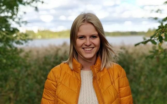 Julia Liewendahl kommer från Åland, men studerar till klasslärare på Åbo Akademi i Vasa.