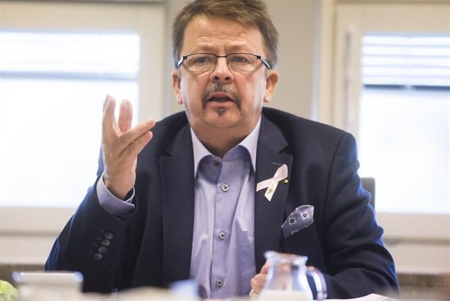 Rainer Bystedt, Vörå kommunstyrelses ordförande.