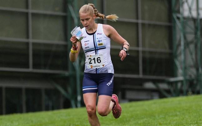 Alexandra Enlund är i bra form.