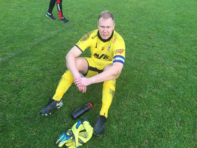 Målvakten Olli Nylund var klart bäst i GBK.