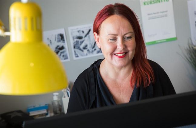 Maria Norrlin-Asplund har startat företagsportalen Ostroentre.