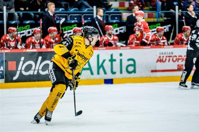 Robin Salo går från SaiPa till Örebro i SHL.