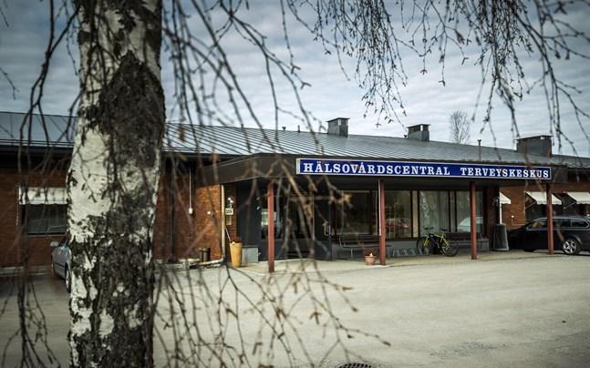 Oravais Hälsovårdscentral. Arkivbild.