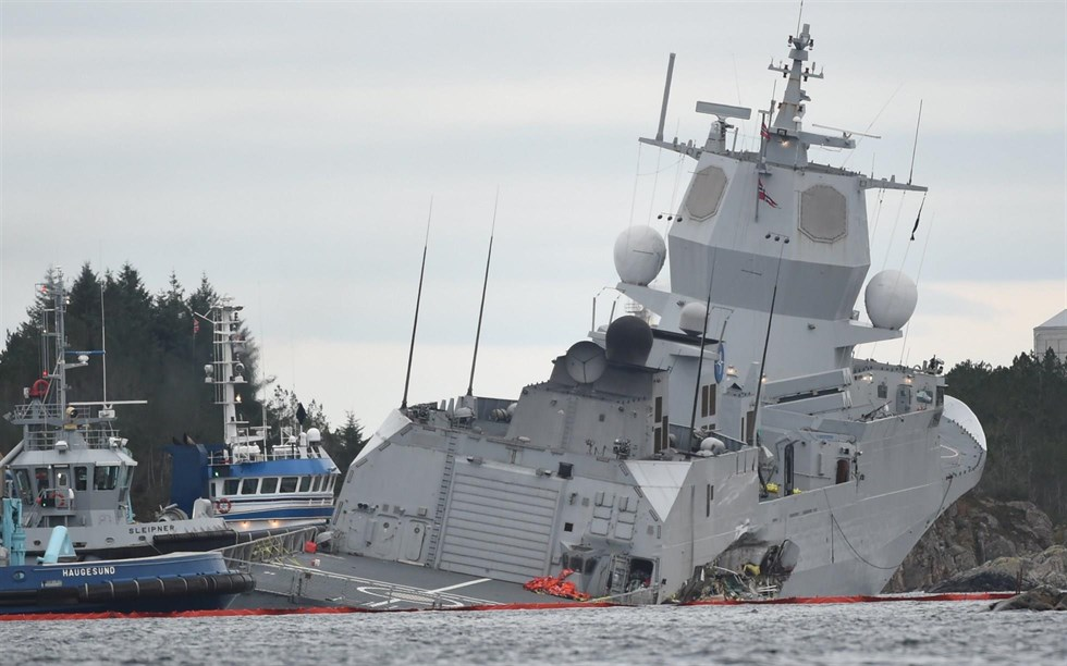 Tankfartyg pa grund vid laeso