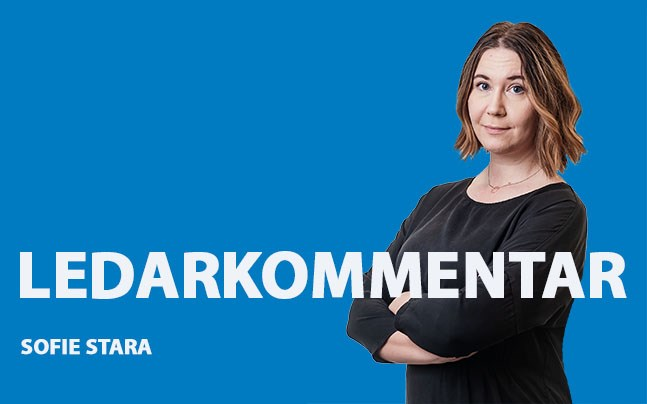 Sofie Stara. ledarkommentar 14.11.2018.