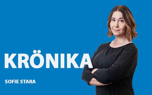 Sofie Stara. krönika 14.11.2018.