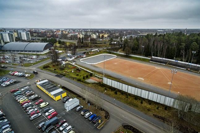 Bobollsplanen i Vasa ska kanske flyttas i framtiden.