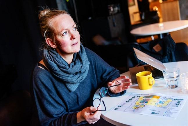 Christin Furu, universitetslektor och logoped, hoppas att huvudargumentet till en öppen planlösning är att den ger den bästa möjliga vardagen för de 190 dagisbarnen.
