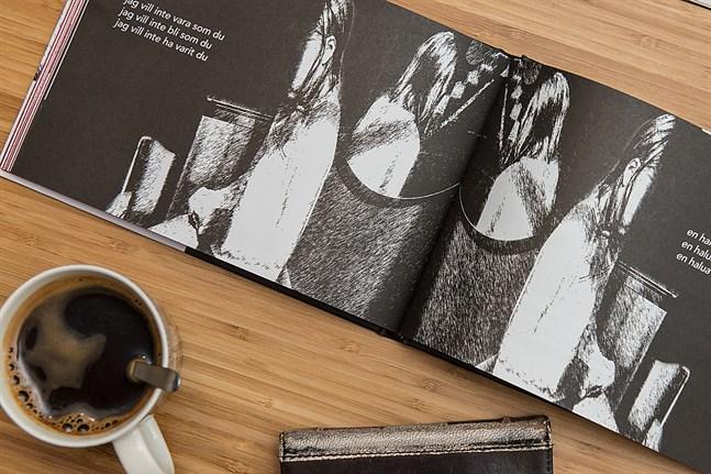 "Jolin Slottes och Pauliina Pesonens bok ""Alla dessa döda ögon - Kaikki nämä kuolleet silmät""."