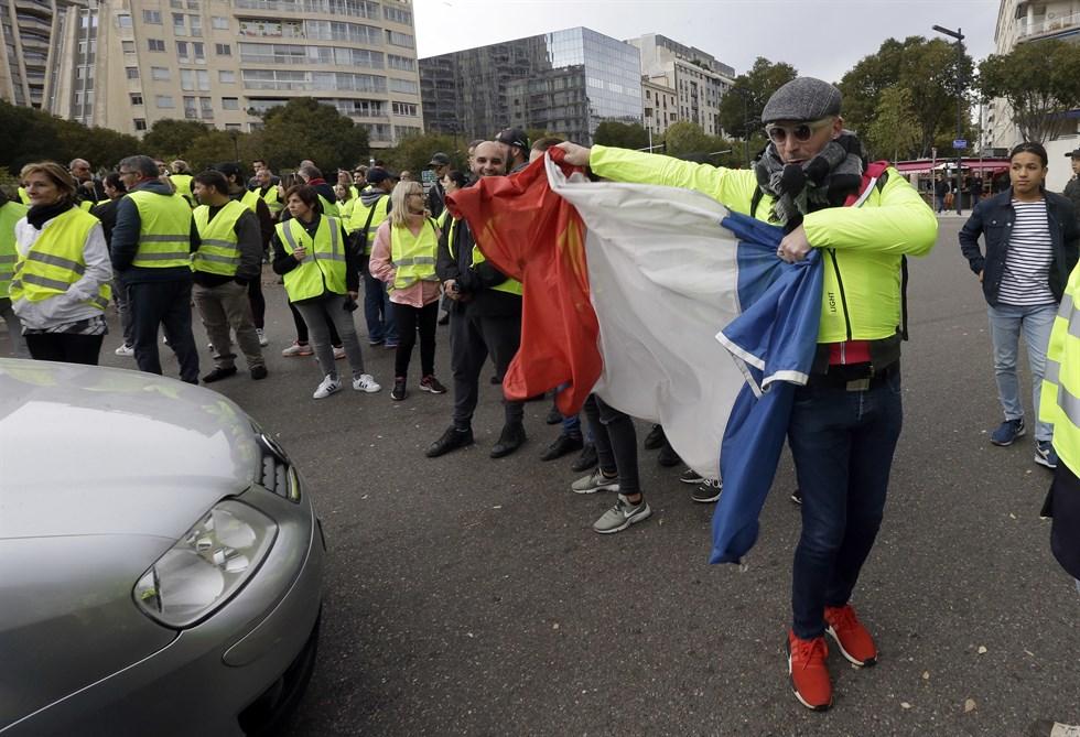 Marseilles flygplats blockerad