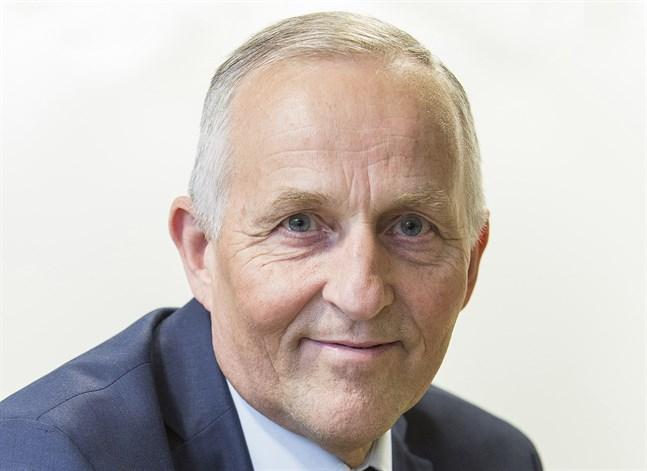 Håkan Nystrand är ordförande för Finlands svenska idrott.