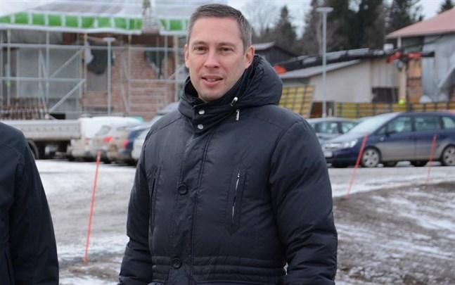 Björn Häggblom fick hoppa in som tf stadsdirektör tidigare än beräknat.